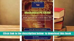 download mechanical pe exam