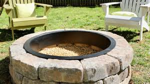 fire rings images How to build a diy fire pit in your backyard thrift diving jpg