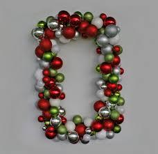 christmas wreath holiday wreath ornament wreath rectangular