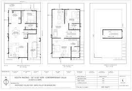 South Facing Duplex House Floor Plans by Floor Plan Concorde Group Concorde Napa Valley At Kanakapura