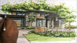 architectural house architectural sketching house 2