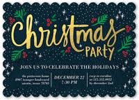 christmas invitations christmas party invitations shutterfly