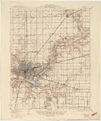 Moline Illinois Map by