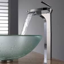 vessel sink faucets brushed nickel polished nickel vessel sink faucet sink ideas