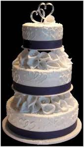 wedding cakes 3 tiers blue ribbon roses google search but i