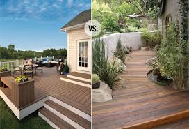 would you rather real wood vs composite decking chris loves julia