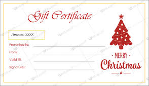 pages templates for gift certificate christmas gift certificate template fun basic photoshots gopages info