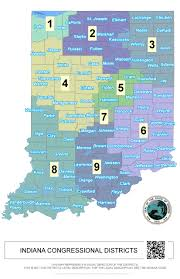 Map Of La County County Affiliates Libertarian Party Of Indiana