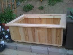 diy plans plans for a cedar planter box pdf download picnic table