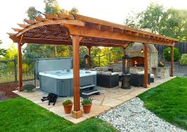 outdoor kitchen pergola kits diy home depot canada 30748 interior