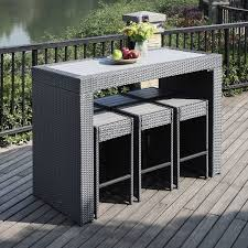 High Patio Dining Sets Tall Patio Dining Sets Gccourt House