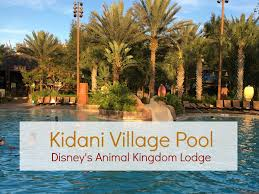 dvc animal kingdom kidani pool youtube