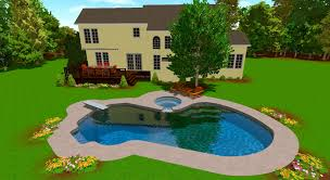 Backyard Deck And Patio Ideas by In Ground Pool Deck Ideas Pool Design Ideas