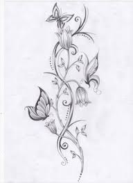 best 25 flower and butterfly tattoos ideas on