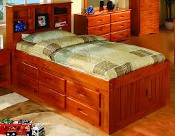 Queen Bed Frame With Trundle by Bedroom Twin Captains Bed With Storage Ikea Queen Bed Frame
