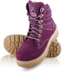 womens pink work boots australia comfortable work and safety boots