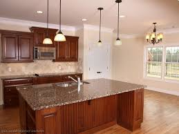 hickory kitchen island cherry wood kitchen designs white pendant lighting siding