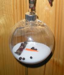 melted snowman ornament holidays