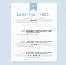 baby blue web designer cv resume cover letter u0026 references