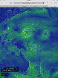 Earth Wind Map Westerly Wind Bursts Robertscribbler