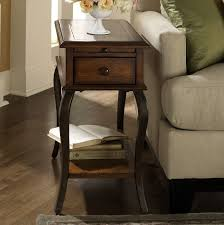 small chair side table narrow side tables with storage skinny