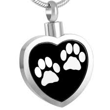 urn pendants pet urn necklace for ashes cremation jewelry dog cat keepsake