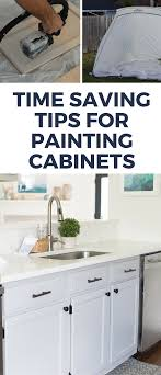 tips for painting cabinets how to paint oak cabinets time saving tips and tricks