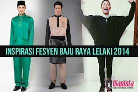baju kurung moden zaman sekarang inspirasi fesyen inspirasi baju raya lelaki terkini 2014 wanista com
