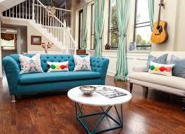 salon du canapé 12 superbes idées déco avec un canapé bleu dans le salon bricobistro