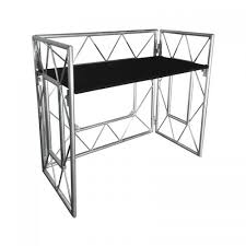 Dj Desk Equinox Truss Booth System Foldable Mobile Dj Stand