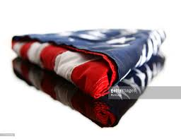 Flag Folded Into Triangle Folded American Flag Stock Photos And Pictures Getty Images