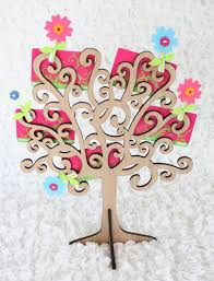 unique gift cards 8 best gift card trees images on wooden tree
