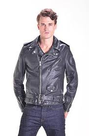 Cowhide Leather Vest Men U0027s Schott Motorcycle Jackets
