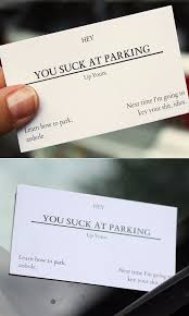 offensive business cards you at parking business cards offensive business cards