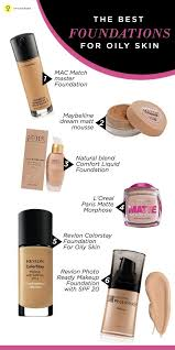 6 best foundations for oily skin