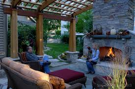 images about backyard fireplace makeovers nice back yards with