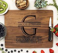 personlized cutting boards personalized engraved cutting boards st out