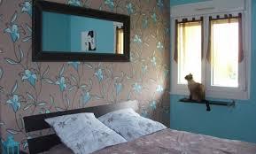 chambre marron et turquoise best chambre marron chocolat et bleu turquoise pictures matkin