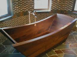 wooden bathtub custom wooden bath tub made of walnut projects to try
