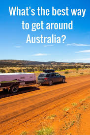 how to travel around australia caravan or camper trailer