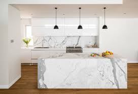 Marble Backsplash Kitchen by 30 Gorgeous Grey And White Kitchens That Get Their Mix Right