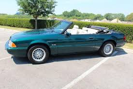 1990 ford mustang 1990 ford mustang lx 5 0 2dr convertible stock 7upfox for sale