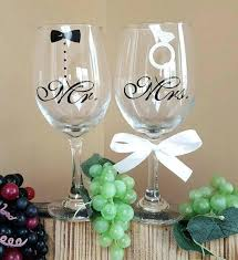 wedding glasses wedding glasses decoration and groom stick figure