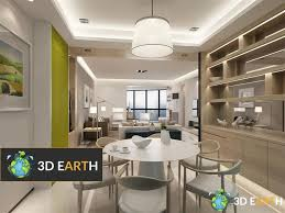 Best Dining Room by Best Dining Room Scene 3d Model 3dearth 3ds Max 3d Models