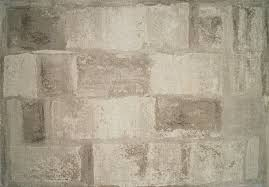 Frieze Rug Crystal Tan Area Rug With Brick Pattern Modern Frieze Area Rugs