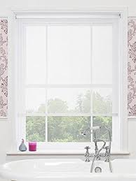 kitchen blinds ideas uk magic screen blinds sheer voile roller blinds amazon co uk