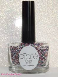 ciate caviar rainbow manicure review swatches and photo u0027s pink