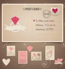 timbre poste mariage carte postale vintage de fond et timbres poste pour la