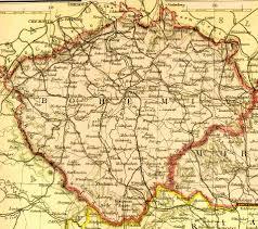 Czechoslovakia Map Bohemia Where My Great Grandfather U0027s Parents Were Born Bohemia