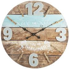 oversize live the life wall clock wall clocks clocks and walls